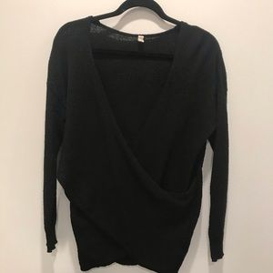 VICI Collection cross over sweater